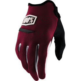 100% Ridecamp Bike Gloves red